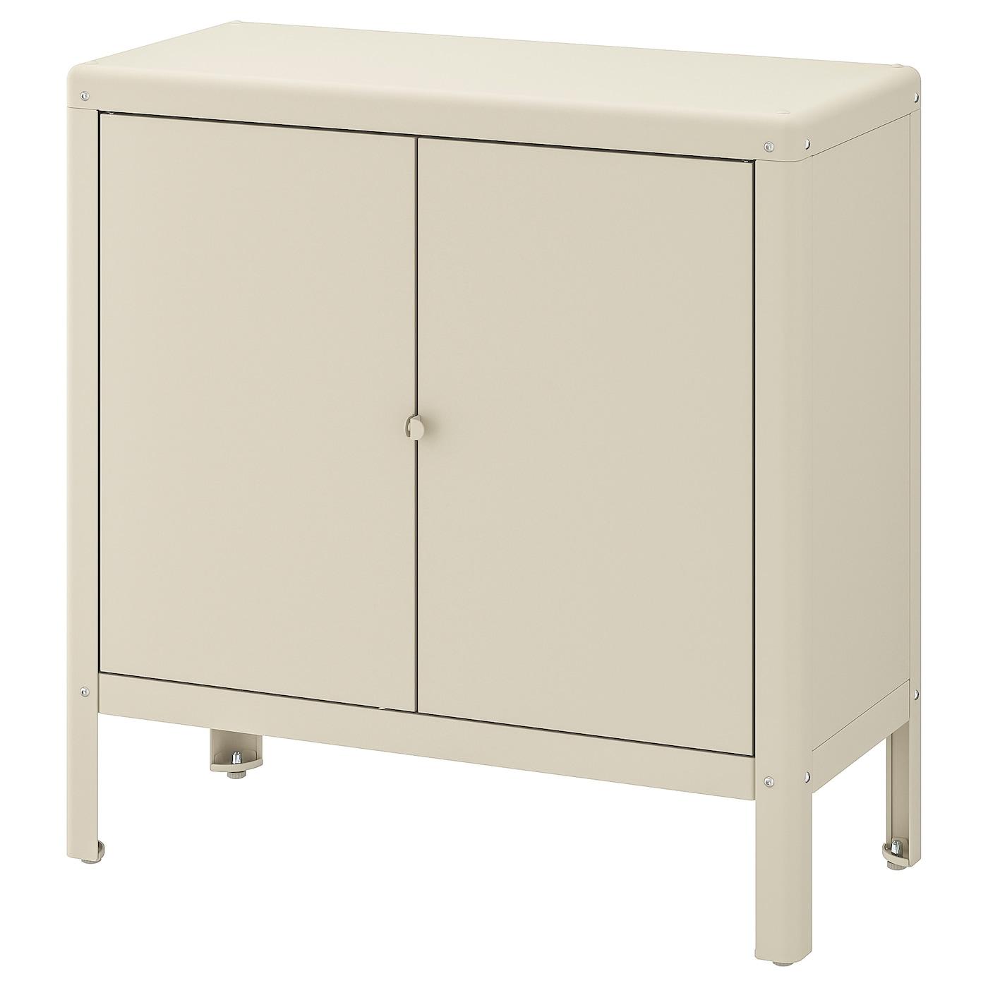 """KOLBJÖRN Cabinet, indoor/outdoor - beige 8 8/8x8 8/8 """""""