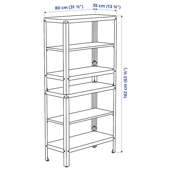 """KOLBJÖRN Shelf unit, indoor/outdoor, 31 1/2x13 3/4x63 3/4 """""""
