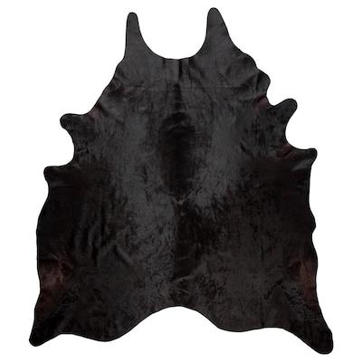 KOLDBY cowhide black 32.29 sq feet