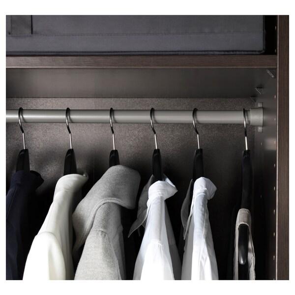 "KOMPLEMENT Clothes rail, dark gray, 39 3/8 """