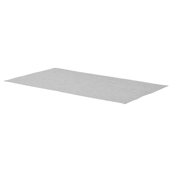 "KOMPLEMENT Drawer liner, light gray, 35x20 7/8 """