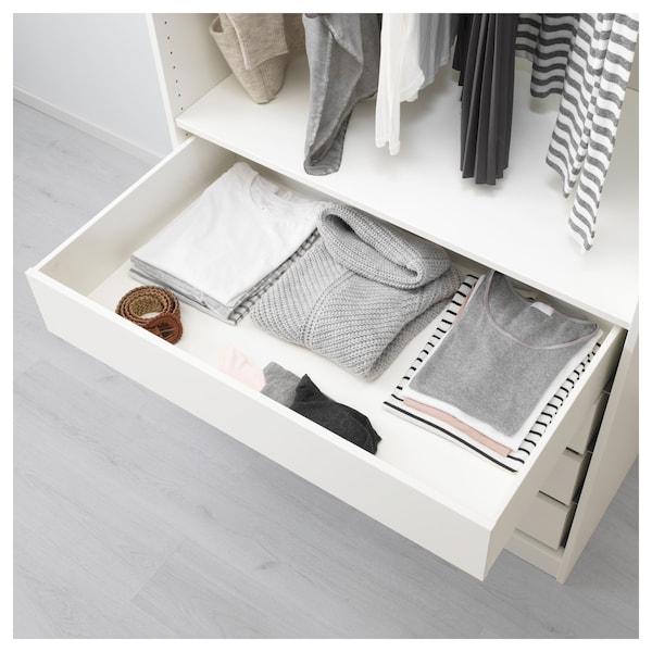 """KOMPLEMENT drawer white 39 3/8 """" 22 7/8 """" 36 1/2 """" 22 3/8 """" 6 1/4 """" 35 1/2 """" 21 """""""