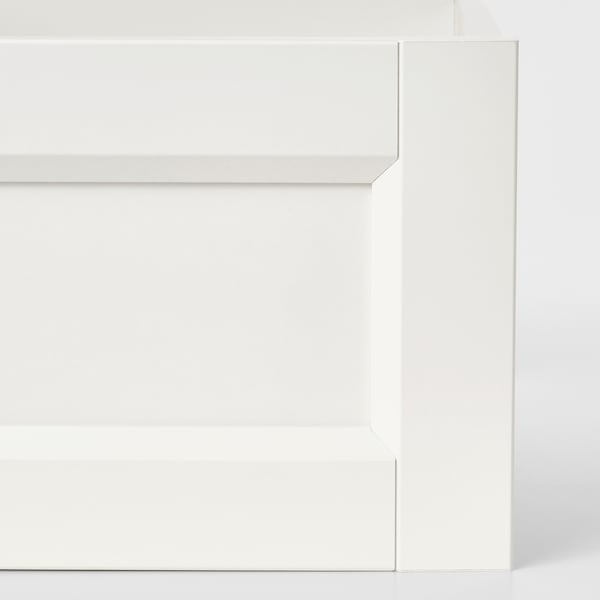"KOMPLEMENT drawer with framed front white 39 3/8 "" 22 7/8 "" 36 1/2 "" 22 3/8 "" 6 1/4 "" 35 1/2 "" 21 """