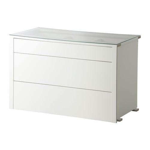 KOMPLEMENT Interior chest of drawers IKEA Top drawer is divided into compartments.   Helps you organize jewelry, ties, undergarments, etc.