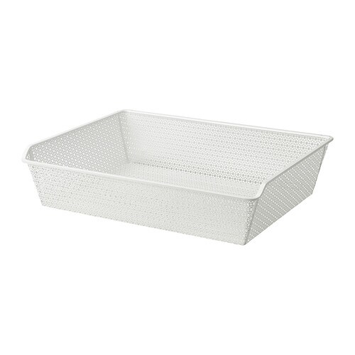 KOMPLEMENT Metal basket with pull-out rail IKEA 10-year Limited Warranty.   Read about the terms in the Limited Warranty brochure.