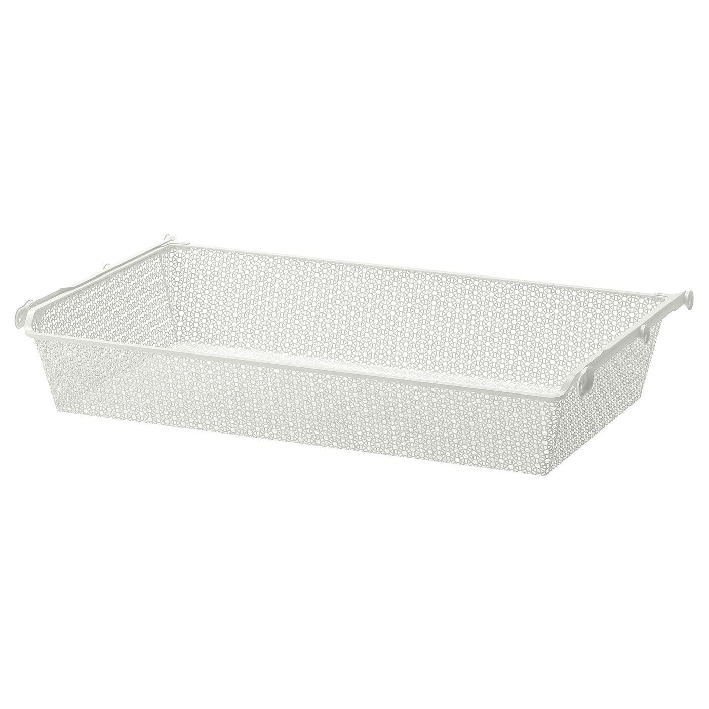 """Ikea Tiroir Armoire Pax komplement metal basket with pull-out rail - white 39 3/8x22 7/8 """""""