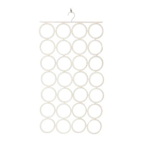 "KOMPLEMENT Multi-use hanger white Width: 17 "" Height: 33 ½ ""  Width: 43 cm Height: 85 cm"