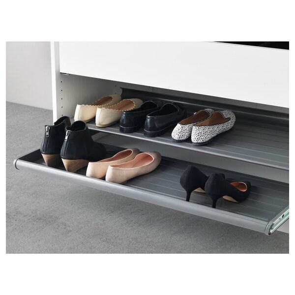 "KOMPLEMENT pull-out shoe shelf dark gray 36 5/8 "" 39 3/8 "" 22 1/4 "" 6 1/2 "" 22 7/8 "" 35 lb 4 oz"