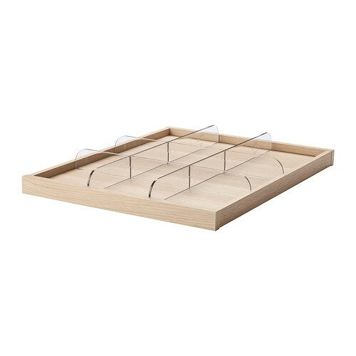KOMPLEMENT Pull-out tray with divider IKEA 10-year Limited Warranty.   Read about the terms in the Limited Warranty brochure.