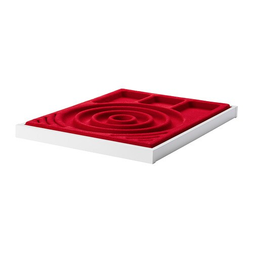 KOMPLEMENT Pull-out tray with jewelry insert IKEA 10-year Limited Warranty.   Read about the terms in the Limited Warranty brochure.