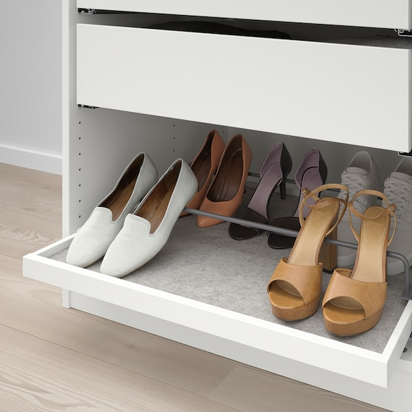 Komplement Pull Out Tray With Shoe Rail