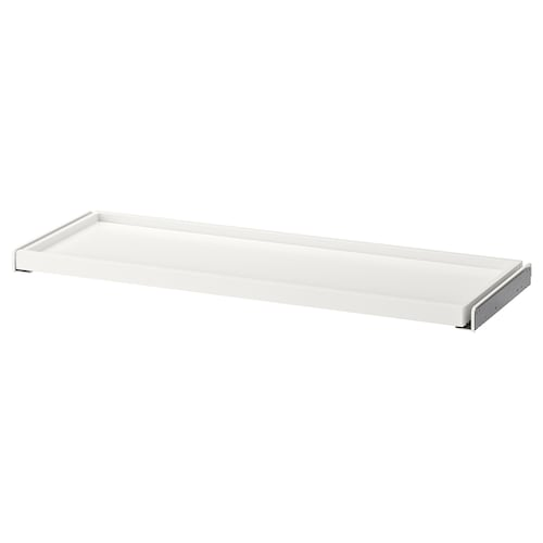 "KOMPLEMENT pull-out tray white 36 1/2 "" 39 3/8 "" 13 1/8 "" 1 3/8 "" 13 3/4 "" 22 lb 1 oz"