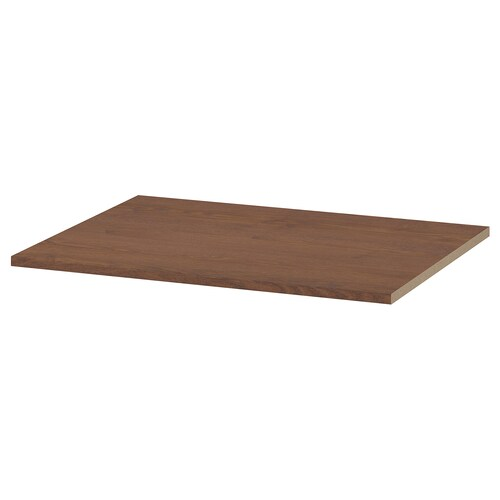 """KOMPLEMENT shelf brown stained ash effect 28 """" 29 1/2 """" 22 1/2 """" 22 7/8 """" 3/4 """" 44 lb"""