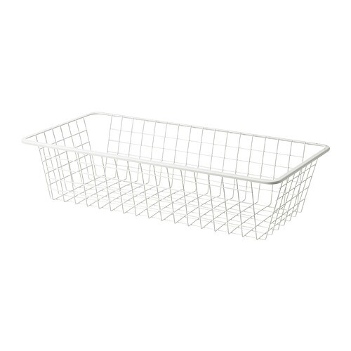 KOMPLEMENT Wire basket with pull-out rail IKEA 10-year Limited Warranty.   Read about the terms in the Limited Warranty brochure.