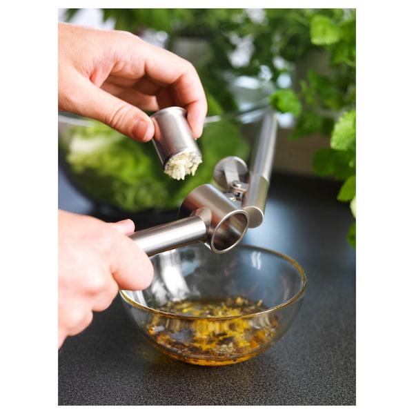 KONCIS Garlic press, stainless steel