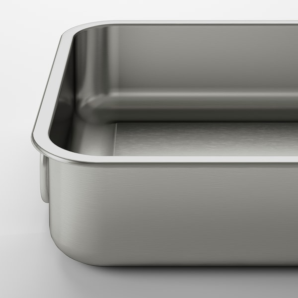 """KONCIS Roasting pan, stainless steel, 10 ¼x7 ¾ """""""