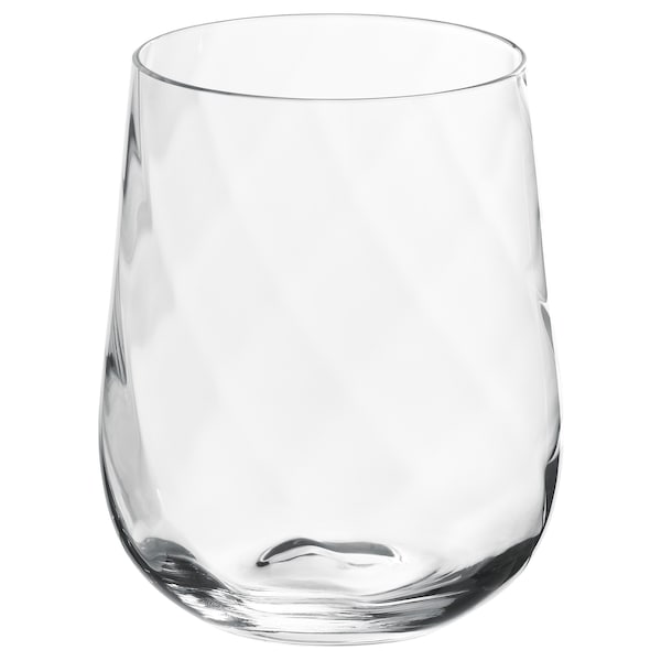 KONUNGSLIG Glass, clear glass, 12 oz