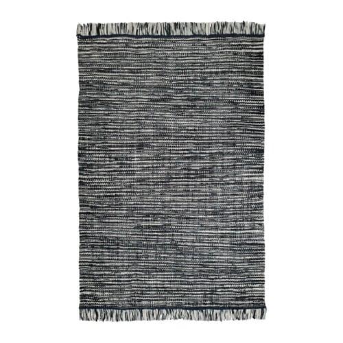 KÖPENHAMN Rug, flatwoven, handmade dark gray 5 ' 7
