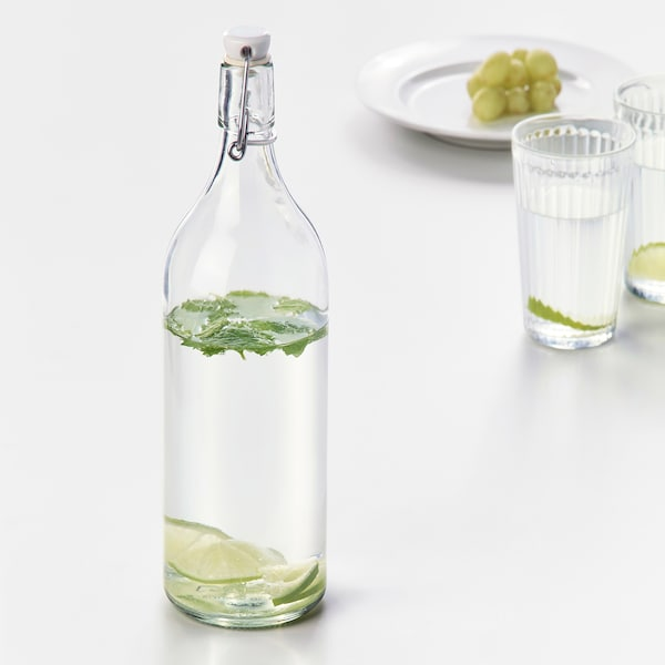 IKEA KORKEN Bottle with stopper