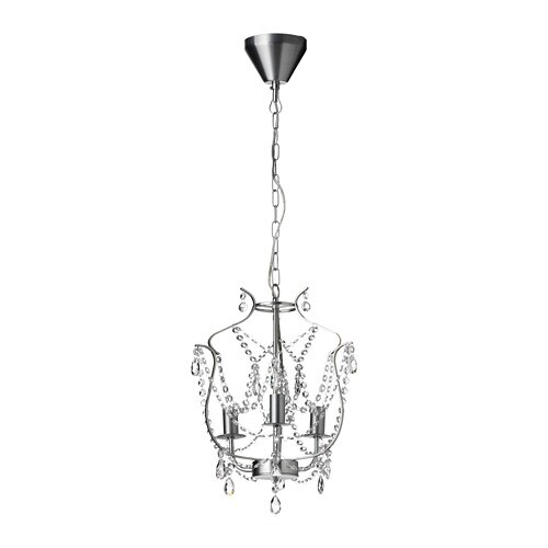 KRISTALLER Chandelier Armed IKEA - Crystal chandelier ikea