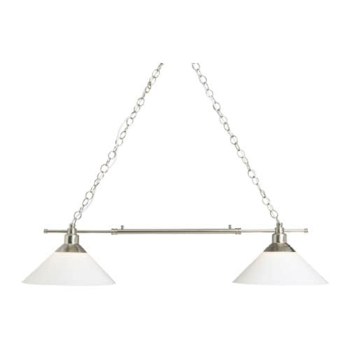 Kroby pendant lamp double ikea - Luminaire suspension ikea ...