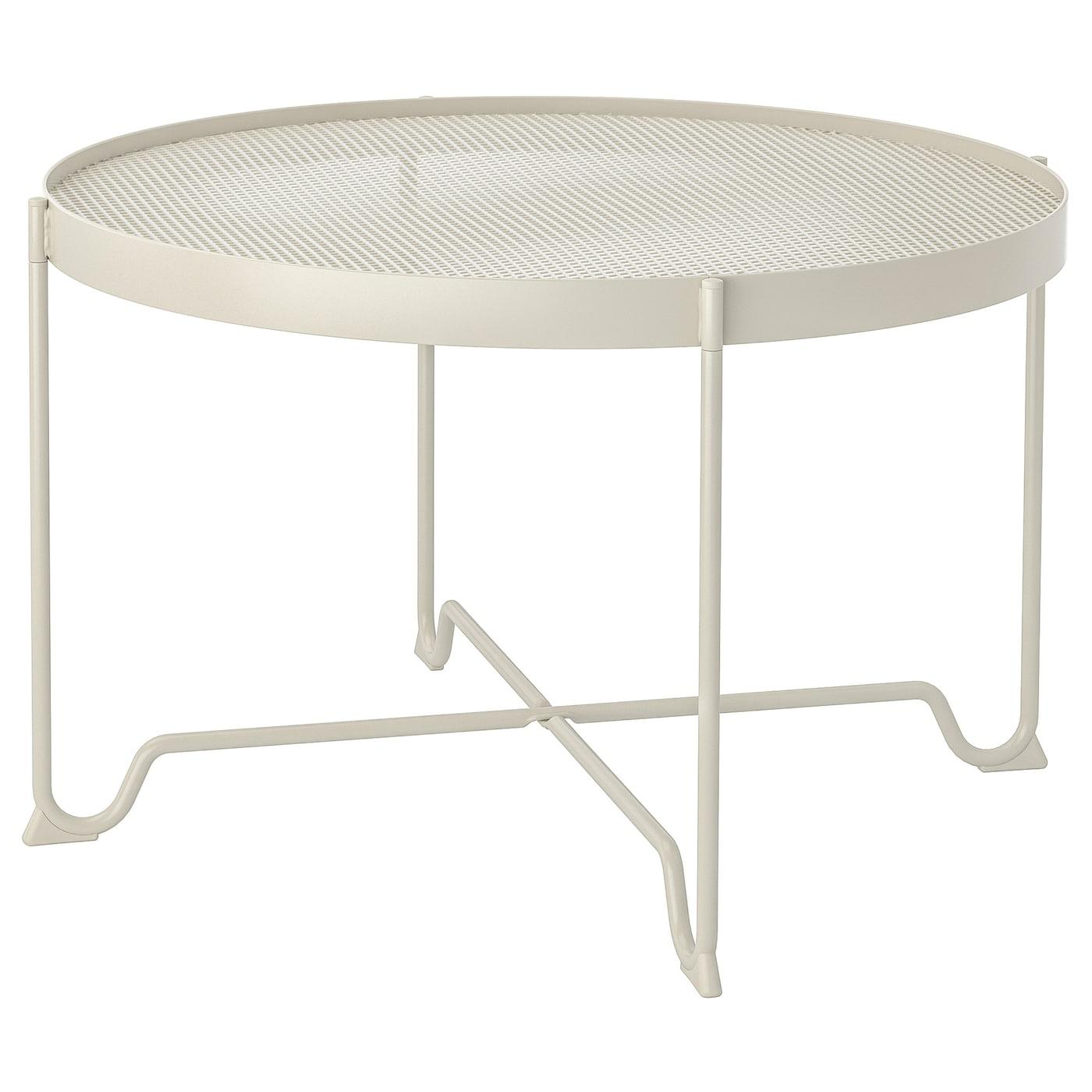 """KROKHOLMEN Coffee table, outdoor - beige 5 5/5 """""""