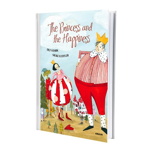 KRULLIG - THE PRINCESS AND THE HAPP Book IKEA