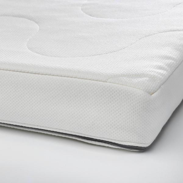 """KRUMMELUR foam mattress for crib 52 """" 27 1/2 """" 3 1/8 """""""