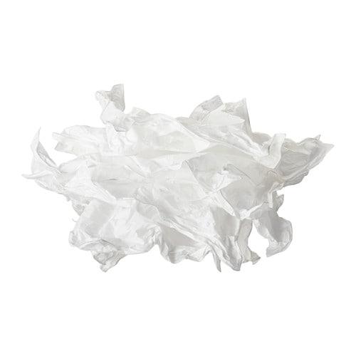 KRUSNING Pendant lamp shade, white white 17