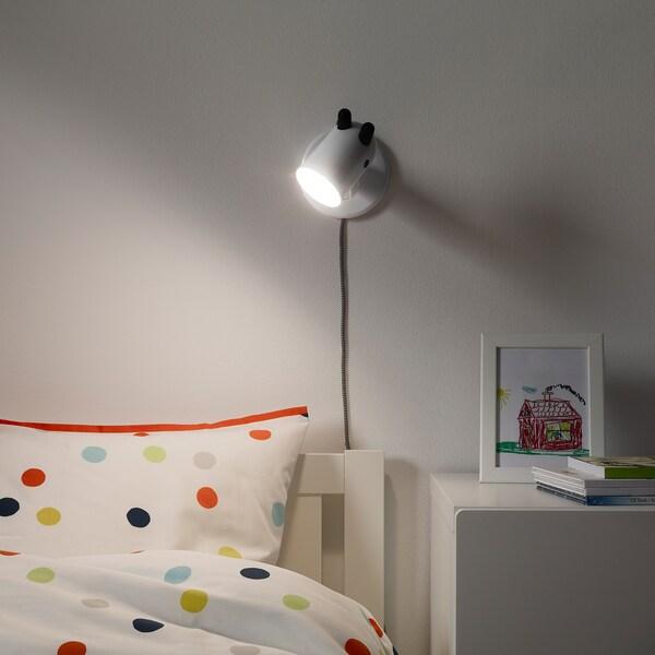 KRUX LED wall lamp, white