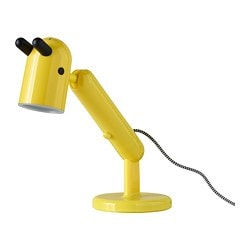 KRUX LED work lamp, yellow