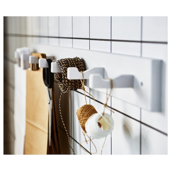 IKEA KUBBIS Rack with 7 hooks