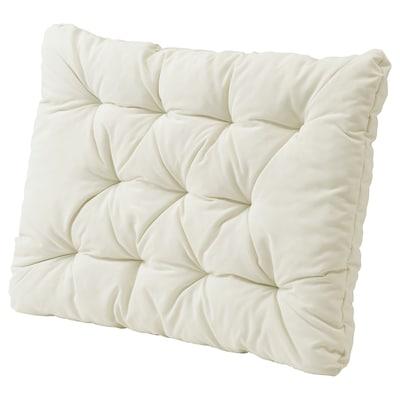 "KUDDARNA Back cushion, outdoor, beige, 24 3/8x17 3/8 """
