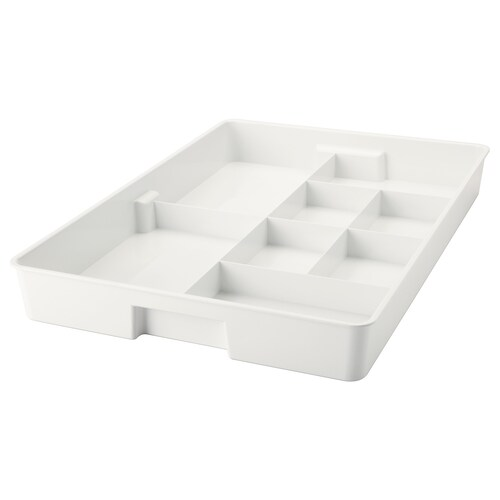 """KUGGIS insert with 8 compartments white 20 ¾ """" 14 ¼ """" 2 ¼ """""""