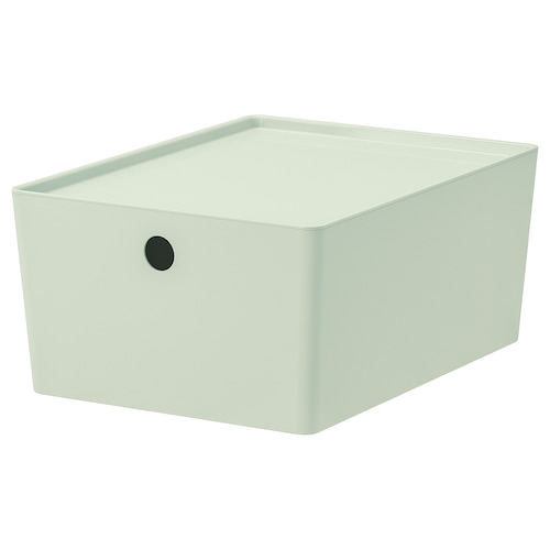 IKEA KUGGIS Storage box with lid