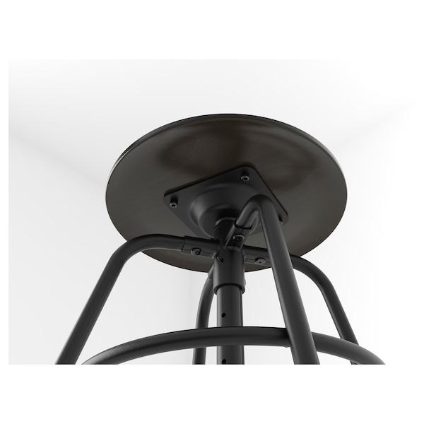 "KULLABERG stool black 243 lb 13 3/8 "" 14 1/8 "" 14 1/8 "" 18 1/2 "" 27 1/8 """