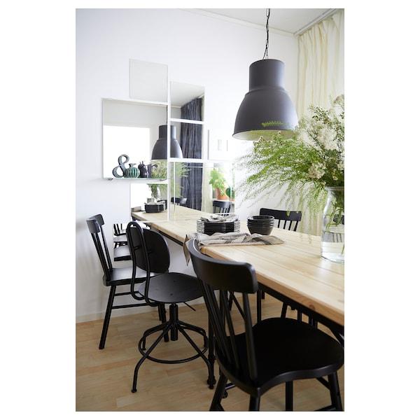 KULLABERG Swivel chair, black