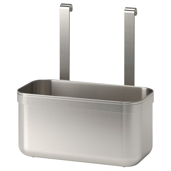"""KUNGSFORS Container, stainless steel, 9 1/2x4 3/4x10 3/8 """""""
