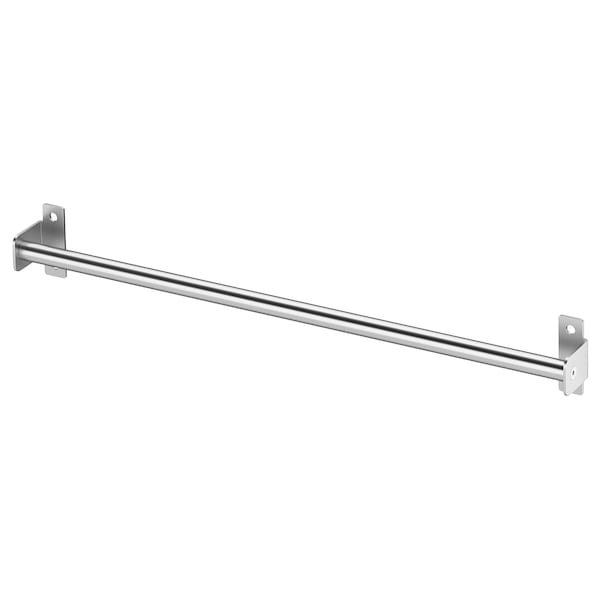 """KUNGSFORS Rail, stainless steel, 15 ¾ """""""