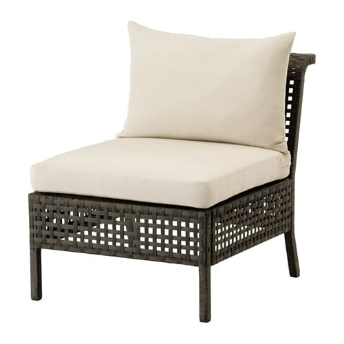 kungsholmen h ll armless chair outdoor ikea. Black Bedroom Furniture Sets. Home Design Ideas