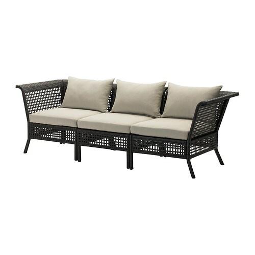 Kungsholmen h ll sofa outdoor ikea - Ikea sofa exterior ...