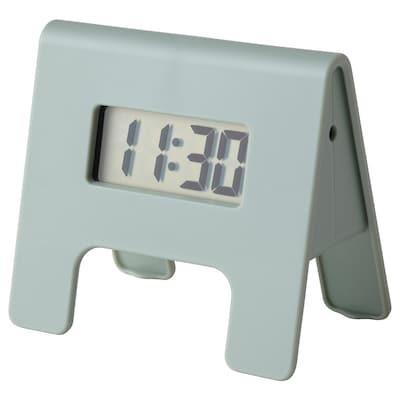 "KUPONG Alarm clock, green, 1 ½x2 ¼ """