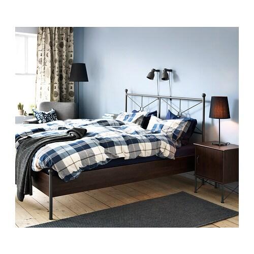 IKEA Kustruta Blue Chekered Plaid Cotton Duvet Cover King or Full Queen NOP  eBay