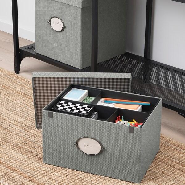 IKEA KVARNVIK Storage box with lid