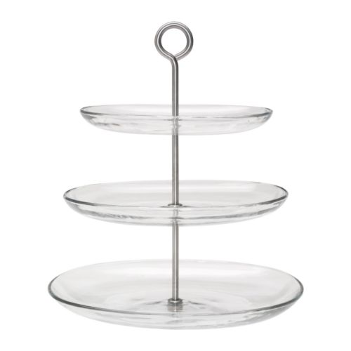 KVITTERA Serving platter, 3 tiers IKEA You can detach the plates and combine and vary the height as you like.