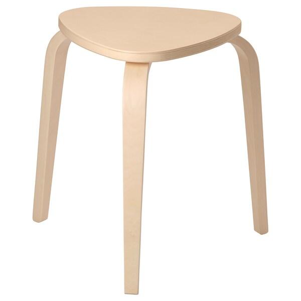 Remarkable Stool Kyrre Birch Ncnpc Chair Design For Home Ncnpcorg