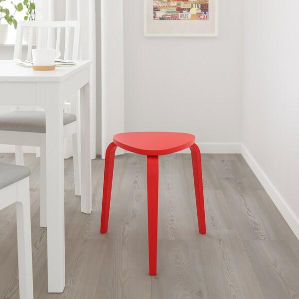 KYRRE Stool, bright red