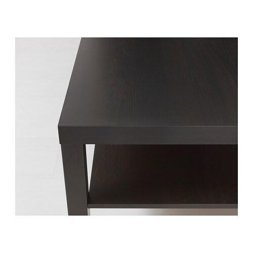 - LACK Coffee Table - Black-brown - IKEA