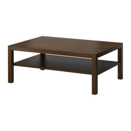 "LACK Coffee table  Length: 46 1/2 "" Width: 30 3/4 "" Height: 17 3/4 ""  Length: 118 cm Width: 78 cm Height: 45 cm"