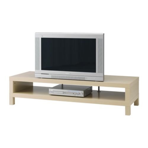 LACK TV unit IKEA Open back; makes cable organizing easy.